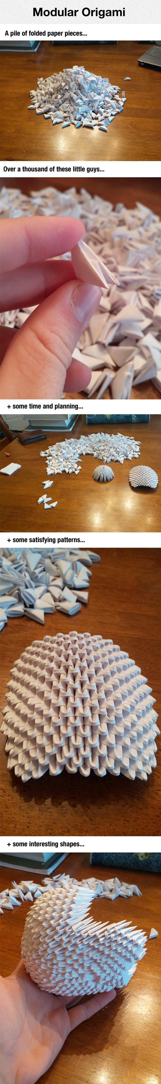 cool-modular-Origami-folded-paper