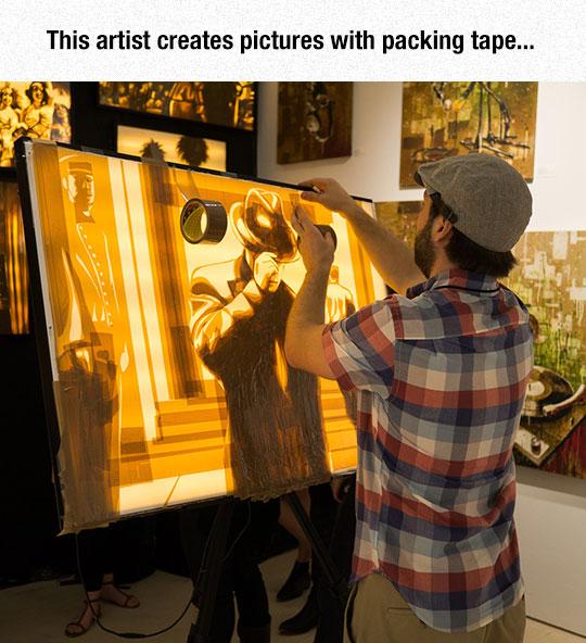 cool-packing-tape-art-artist