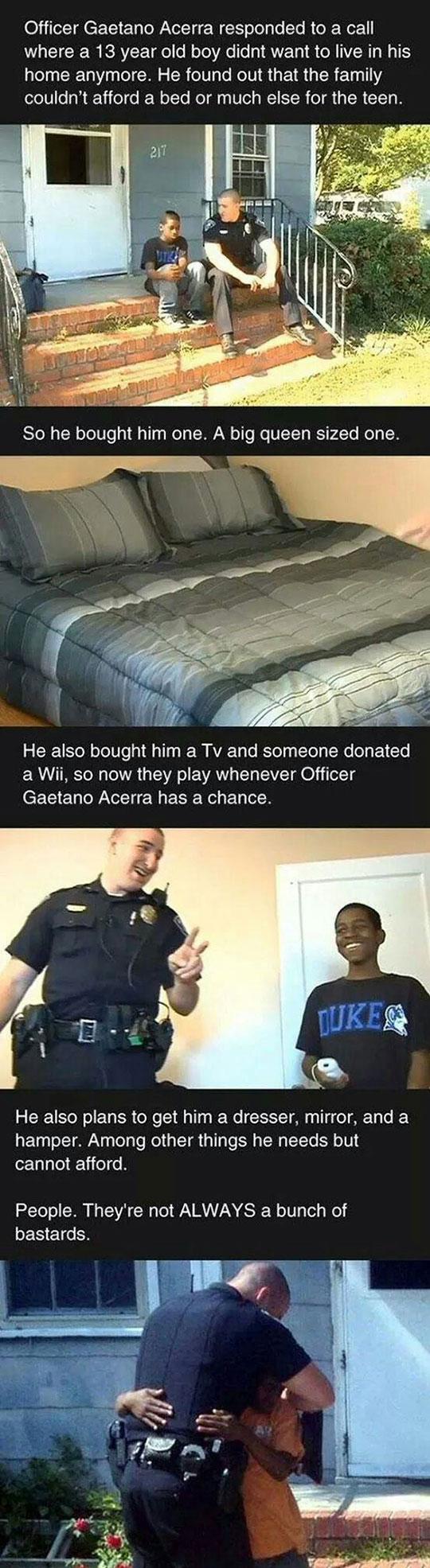 cool-police-officer-gift-mattress-kid