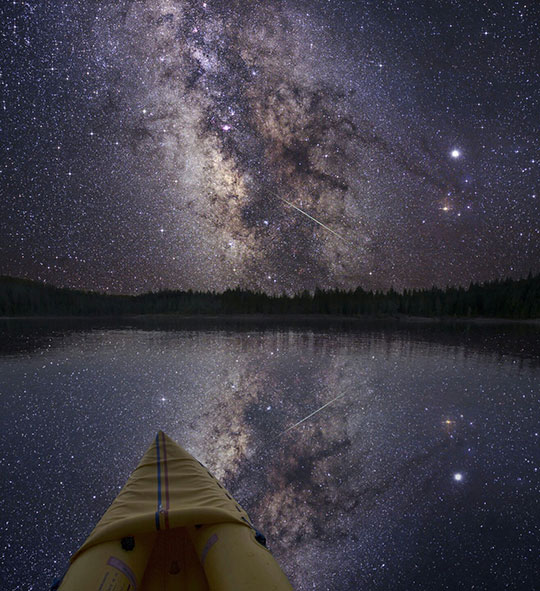 An Amazing View Of The Milky Way