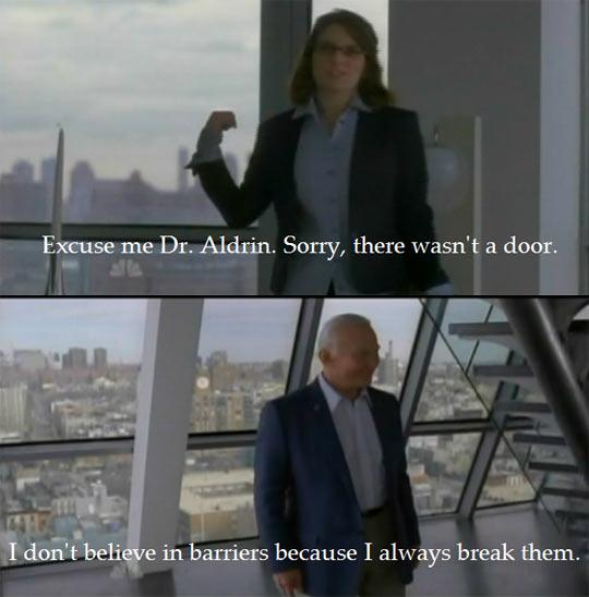 Buzz Aldrin Doesn