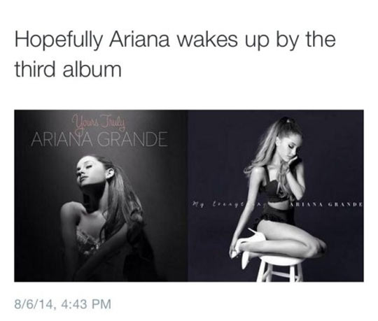 funny-Ariana-Grande-sleeping-album-cover