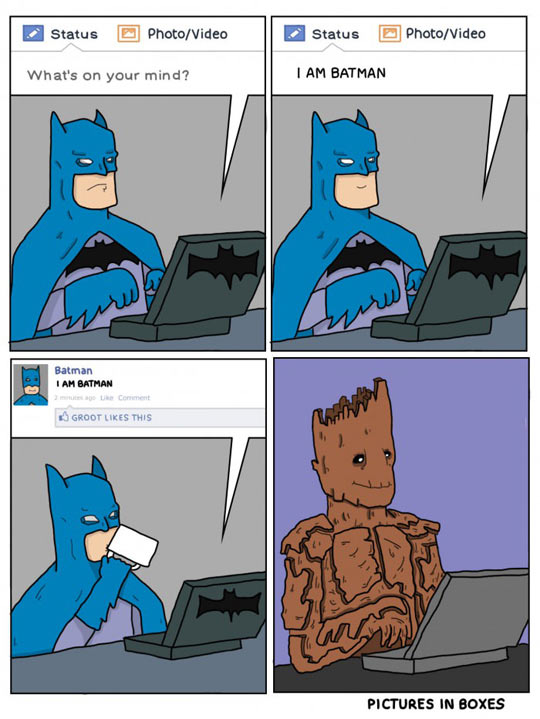 Groot Likes This