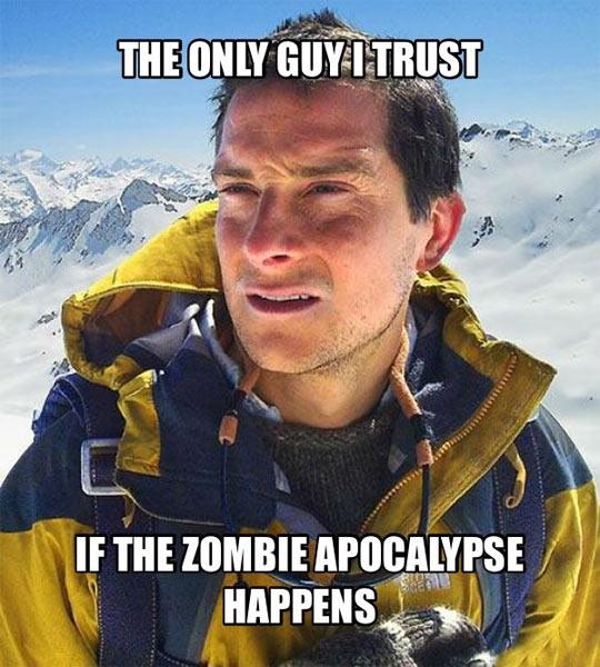 funny-Bear-Grylls-mountain-zombie-apocalypse