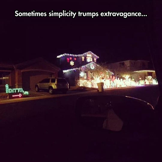 Simplicity Vs. Extravagance