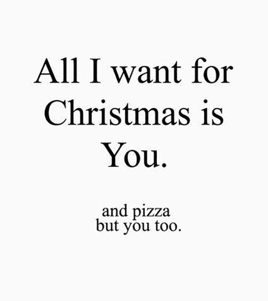 my christmas wish list