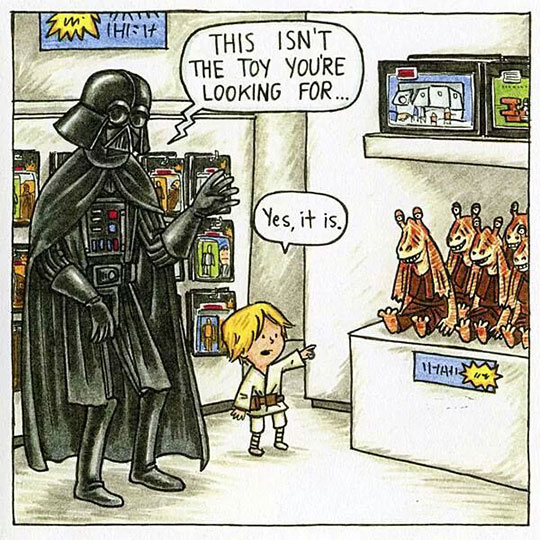 Darth Vader And His Son