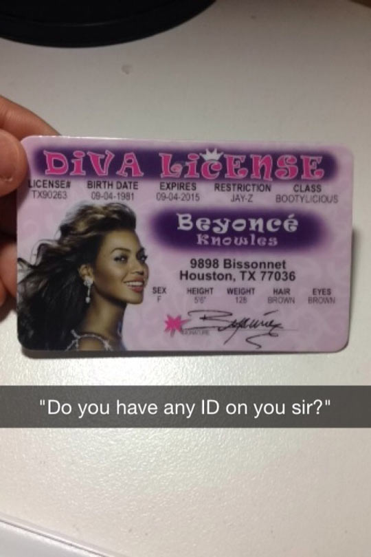 funny-Diva-license-Beyonce-ID