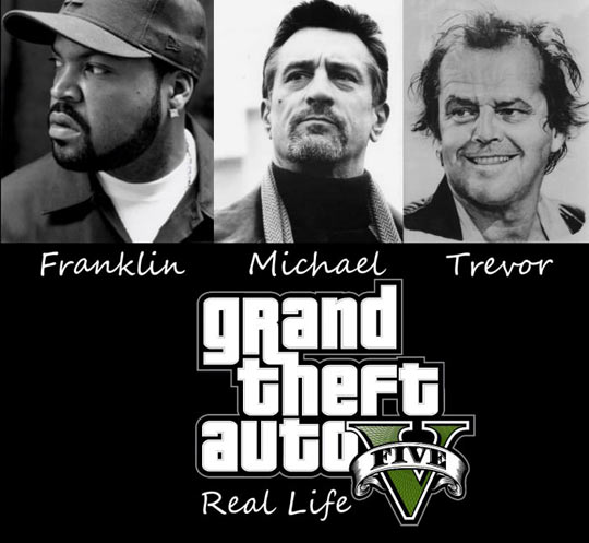 Real Life GTA V