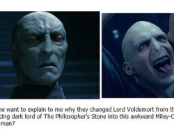 Lord Voldemort Transformation