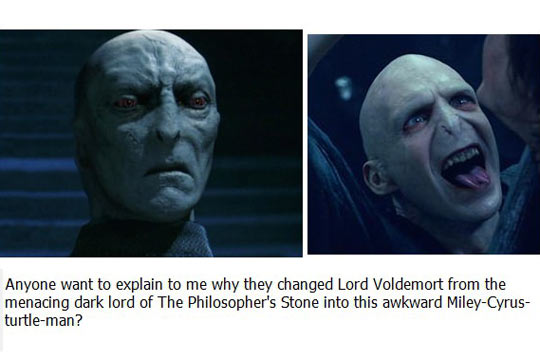 Lord Voldemort Transformation