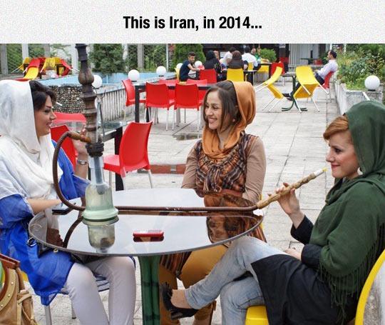 Iran Grew Up As A Society