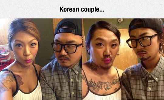 Korean Clothes Swap