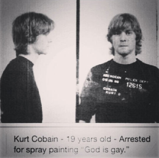 funny-Kurt-Cobain-arrested-spray-painting