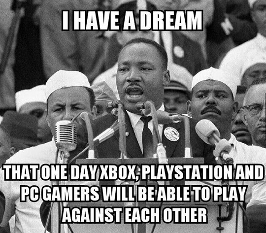 Gamers United Once And For All