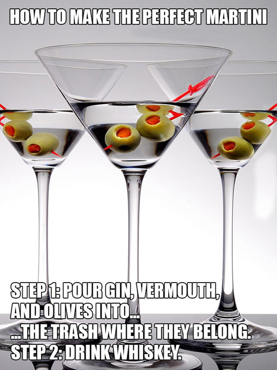 How To Make The Perfect Martini