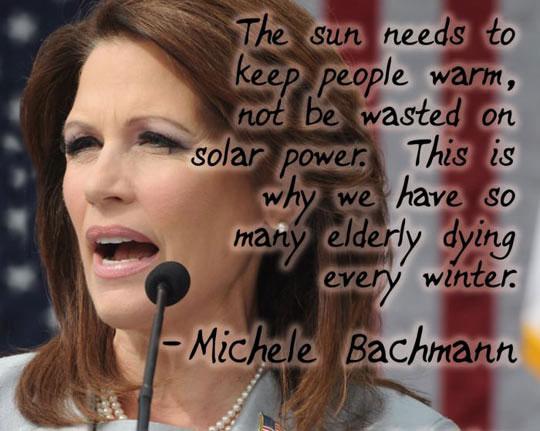 Michele Bachmann, Everyone