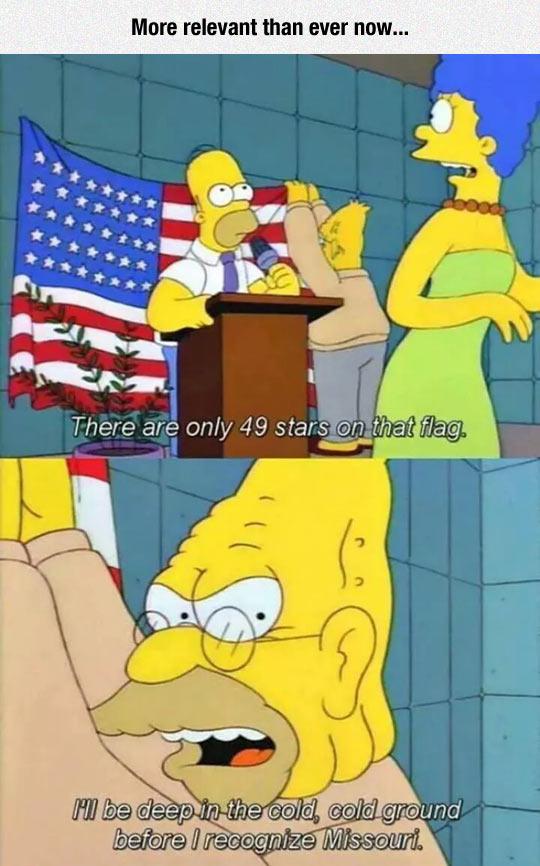 funny-Simpsons-flag-stars-Missouri