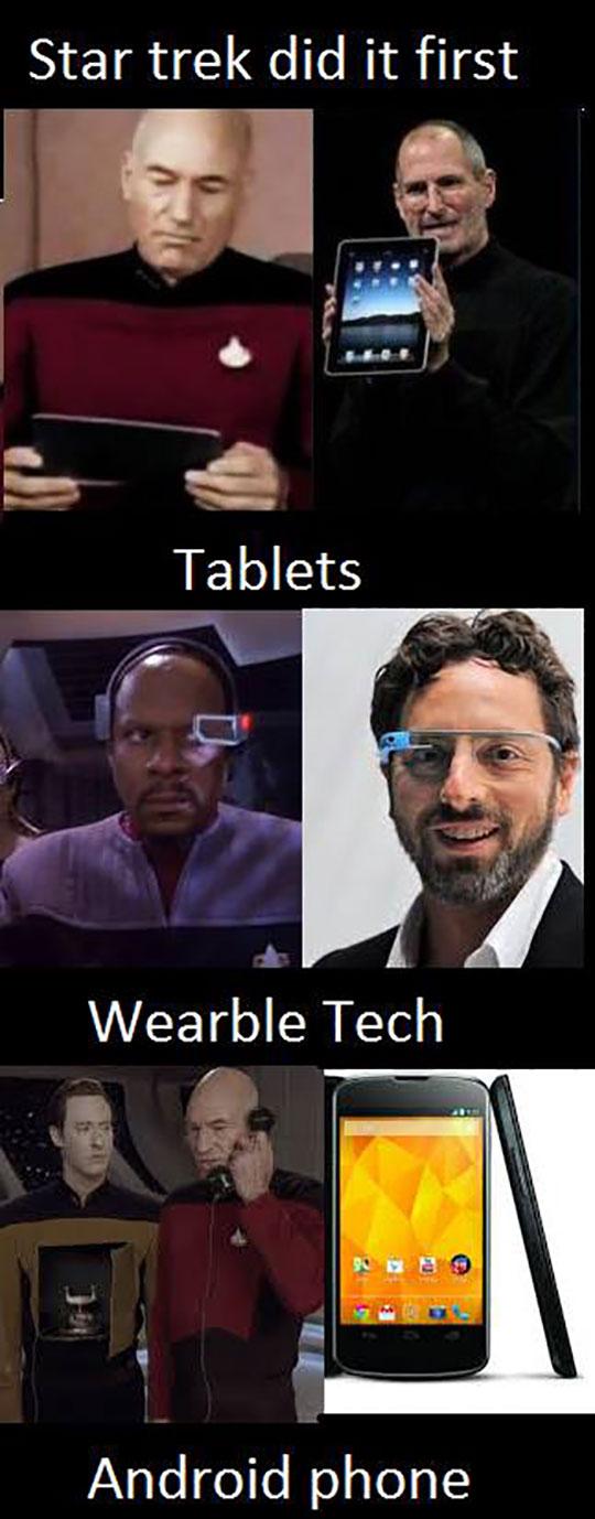 Star Trek Correctly Predicting The Future