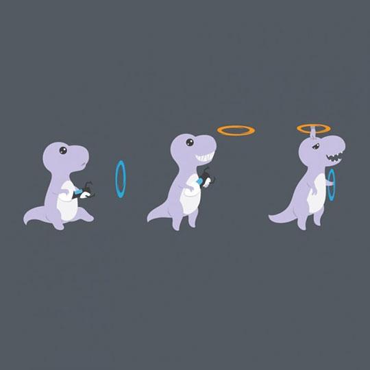 Portal T-Rex