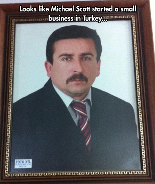 funny-The-Office-Michael-lookalike-Turkey