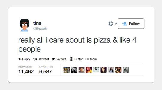 Tina Gets My Drift