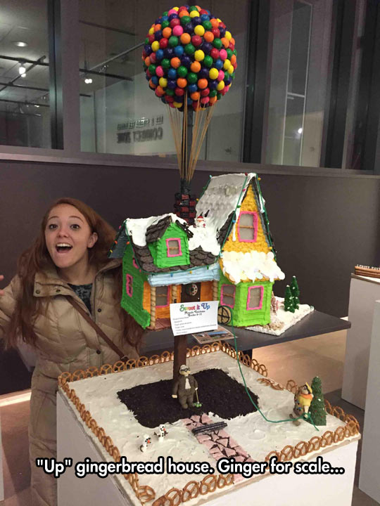 Gingerbread House From The Movie Up