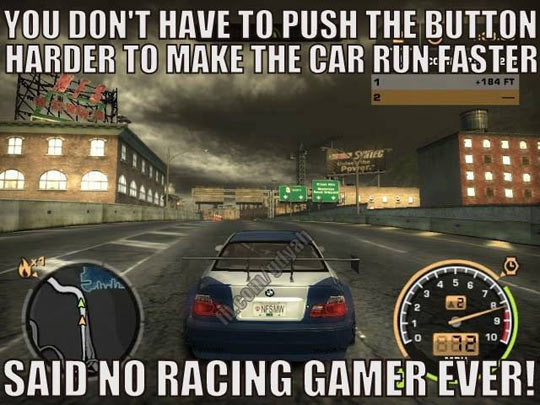 Racing Gamers Will Understand