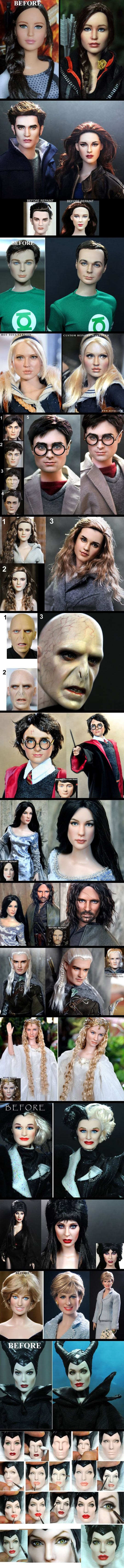 Terrible Dolls Turned Into Masterpieces