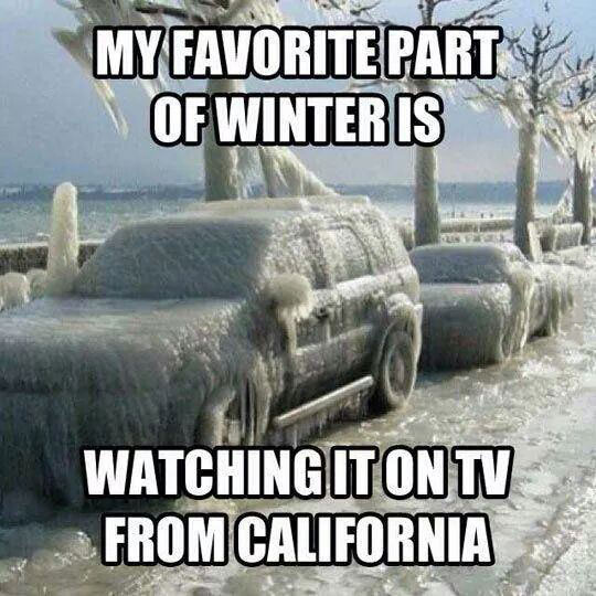 The Only Way I Like Winter