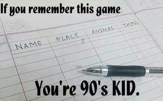 I Remember That Game