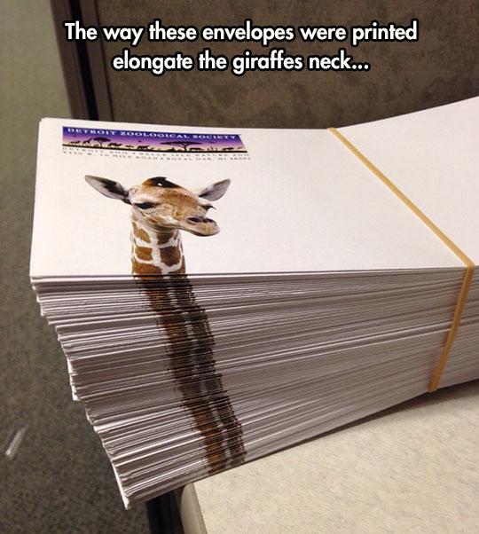 Clever Envelope Design