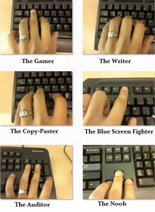 The Truth About Hands And Keyboards
