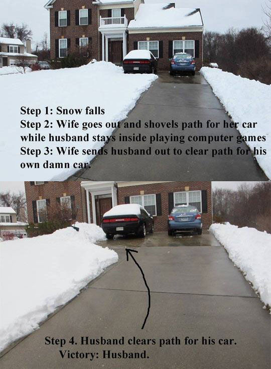 funny-house-driveway-snow-winter