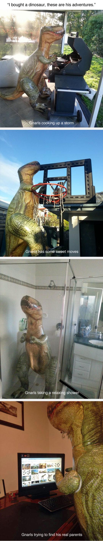 The Adventures Of Gnarls The Dinosaur