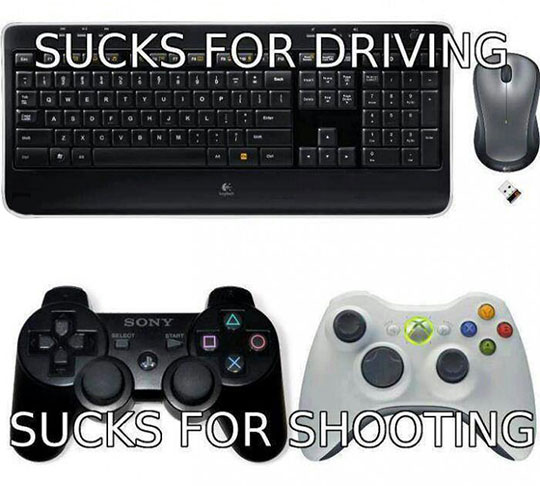 funny-keyboard-mouse-controller-games-driving