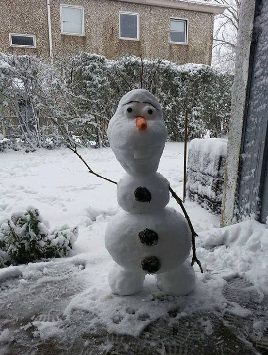 Do You Wanna Build A Snowman?