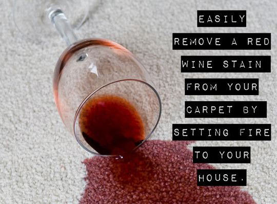 The Only Effective Method To Remove Wine