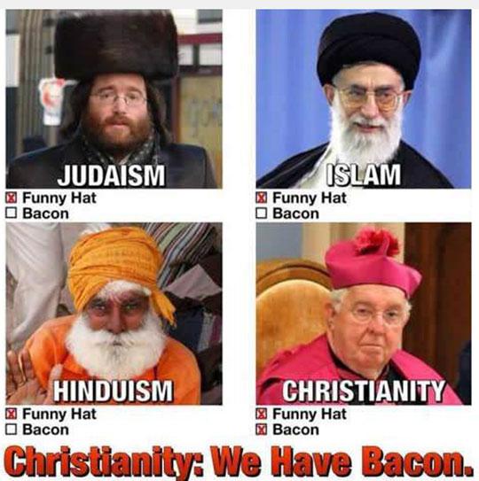 funny-religions-bacon-hats