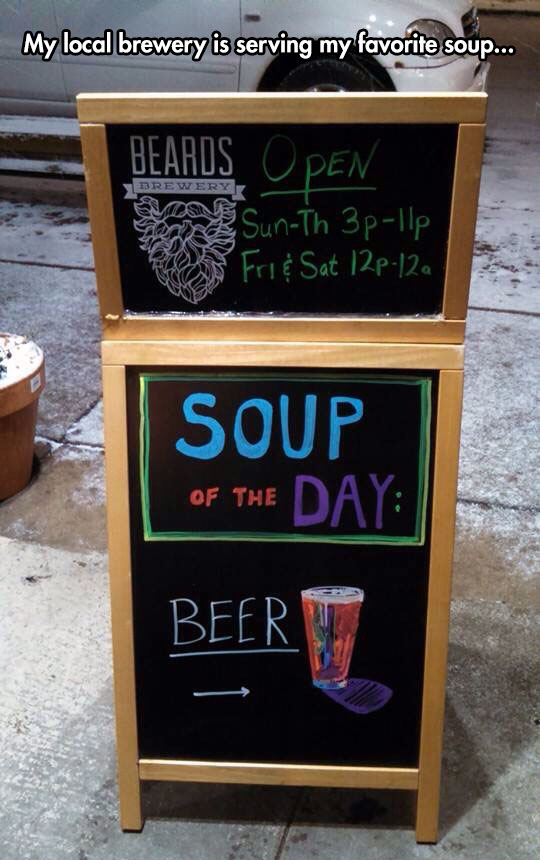 The Soup Of The Day