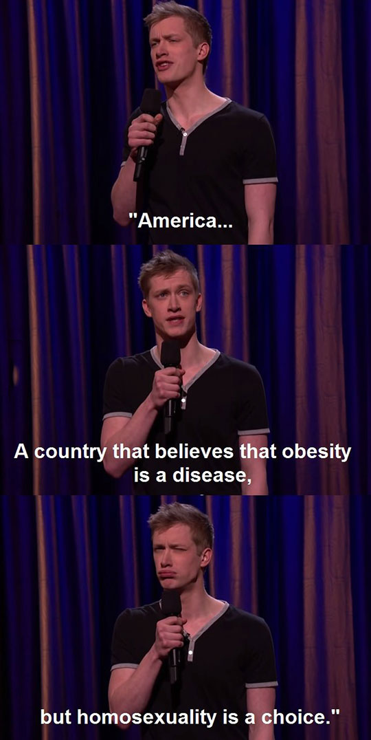 Daniel Sloss On The U.S.A.