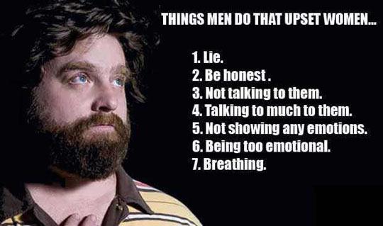Things That Upset Women