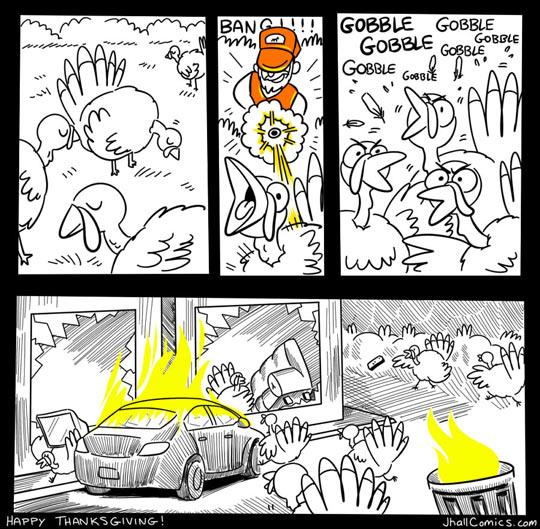 funny-turkeys-riot-hunter-comic