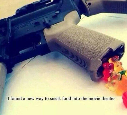funny-weapon-movie-theater-sneak-food
