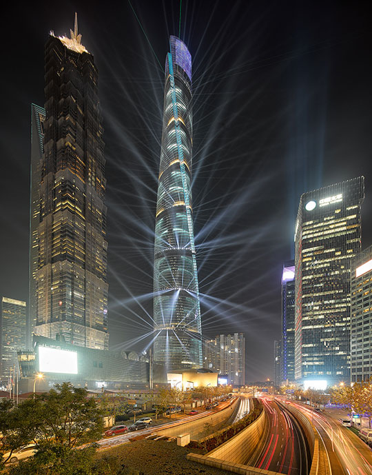 The New Tallest Skyscraper In Shanghai