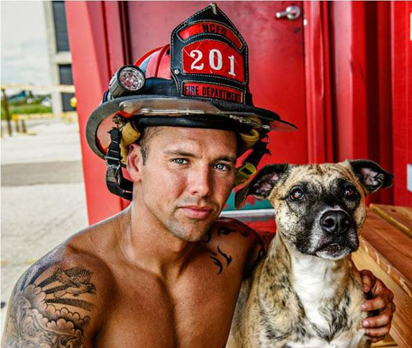 Hot Firefighters With Kittens Amp Puppies Calendar