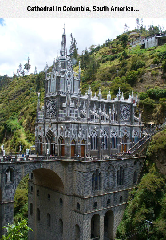 cool-Cathedral-Colombia-mountain-bridge
