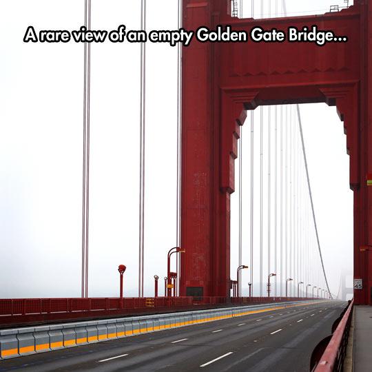 The Bridge Looks Ghostly