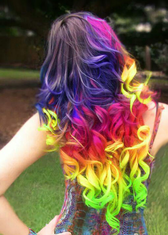 Little Pony Hair Dye