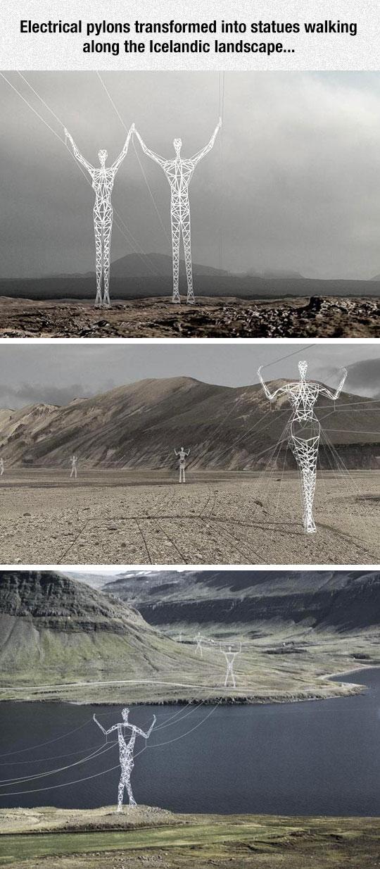 cool-power-lines-giants-art